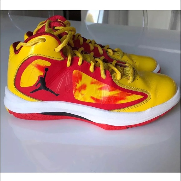 tout neuf 69921 39a2d Nike • Air Jordan Aero Flight Basketball Shoes 5.5